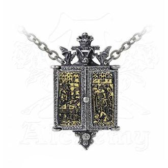 Halskette mit Anhänger ALCHEMY GOTHIC - Balkan Triptych Icon Locket, ALCHEMY GOTHIC