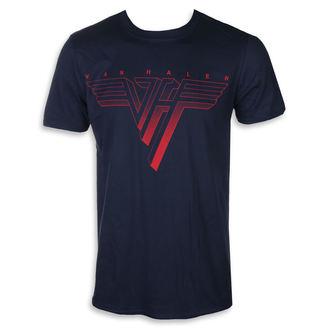Herren T-Shirt Metal Van Halen - CLASSIC RED LOGO - PLASTIC HEAD, PLASTIC HEAD, Van Halen