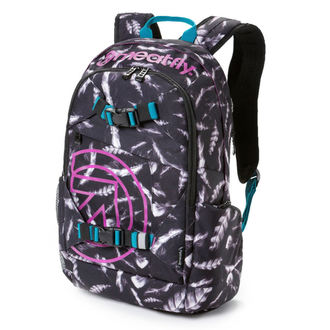 Rucksack MEATFLY - Basejumper 3 - M Feather Grayscale, MEATFLY