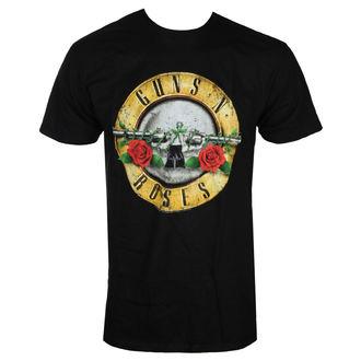 Herren T-Shirt Metal Guns N' Roses - DISTRESSED BULLET - BRAVADO, BRAVADO, Guns N' Roses