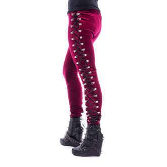 Damen Leggings CHEMICAL BLACK - BEETLE - ROT, CHEMICAL BLACK