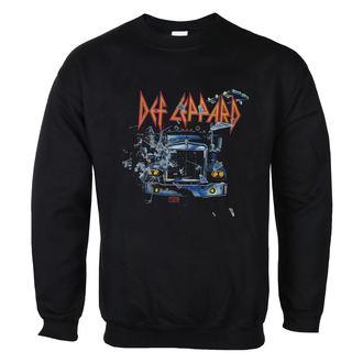Herren Sweatshirt Def Leppard - On through the night - LOW FREQUENCY, LOW FREQUENCY, Def Leppard