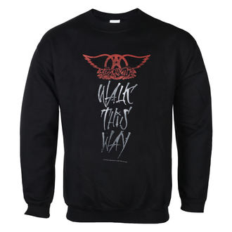 Herren Sweatshirt Aerosmith - Walk This Way - LOW FREQUENCY, LOW FREQUENCY, Aerosmith