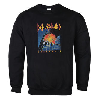 Herren Sweatshirt Def Leppard - Pyromania - LOW FREQUENCY, LOW FREQUENCY, Def Leppard