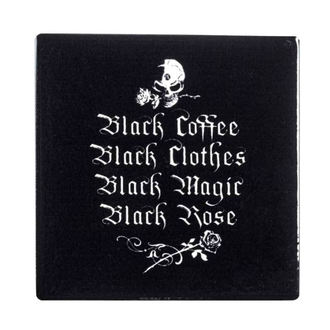 Untersetzer ALCHEMY GOTHIC - Schwarz Kaffee, Schwarz Kleider ..., ALCHEMY GOTHIC