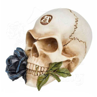 Dekoration Schädel ALCHEMY GOTHIC - Alchemist Skull with Rose, ALCHEMY GOTHIC