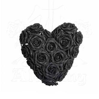 Dekoration ALCHEMY GOTHIC - Black Rose Heart, ALCHEMY GOTHIC