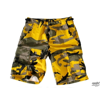 Shorts men US BDU - YELLOW-CAM, BOOTS & BRACES
