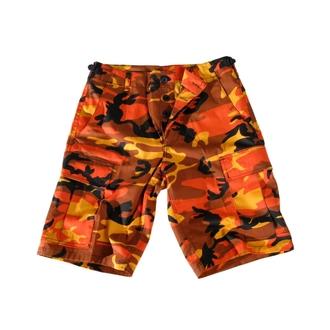 Shorts men US-BDU Short Import - ORANGE, BOOTS & BRACES