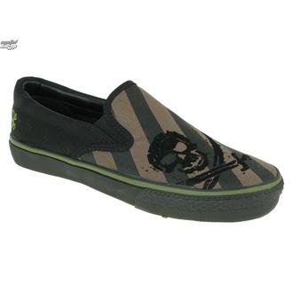 Schuhe DRAVEN - Alcatraz Slip On - MCDP 05 - OLB - Olive/Black