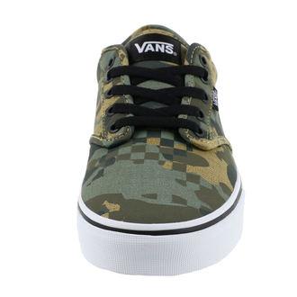 Herren Low Sneaker - MN ATWOOD (CHECK FOX) - VANS, VANS