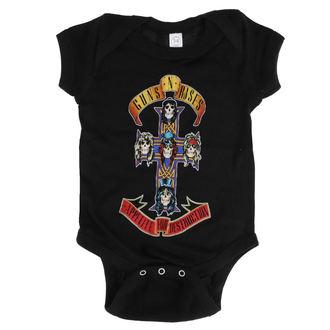 Baby Body Guns N' Roses - AFD CROSS ONESIE - SCHWARZ - BRAVADO, BRAVADO, Guns N' Roses