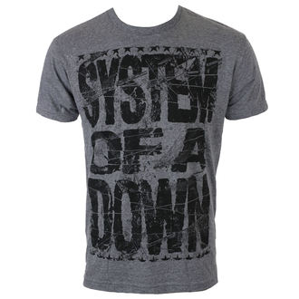 Herren T-Shirt Metal System of a Down - SHATTERED - BRAVADO, BRAVADO, System of a Down