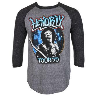 Herren 3/4 Arm Shirt Jimi Hendrix - AUTHENTC 70 TOUR - BRAVADO, BRAVADO, Jimi Hendrix
