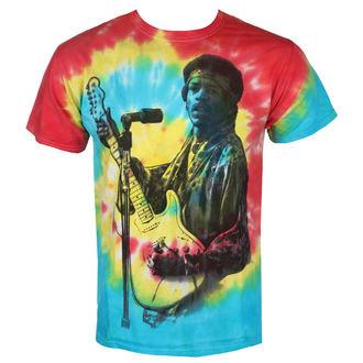 Herren T-Shirt Metal Jimi Hendrix - RAINBOW SPIRAL - BRAVADO, BRAVADO, Jimi Hendrix
