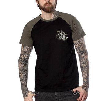 Herren T-Shirt Hardcore - FUCKING HOSTILE KAKI - HYRAW, HYRAW