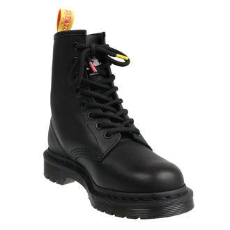 boty DR.MARTENS - 8 dírkové - Sex Pistols - MILLED GREASY+ BACKHAND - Black