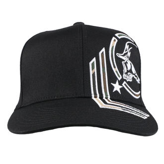 Kappe Cap METAL MULISHA - HIDE BLK, METAL MULISHA