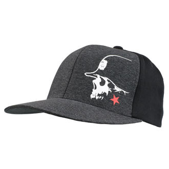 Kappe Cap METAL MULISHA - LIGHT BLK, METAL MULISHA