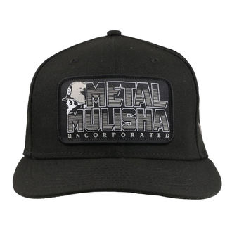 Kappe Cap METAL MULISHA - JAIL BREAK BLK, METAL MULISHA