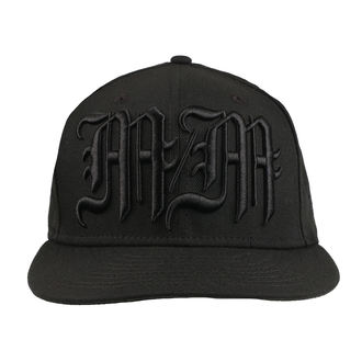 Kappe Cap METAL MULISHA - BLACK METAL BLK, METAL MULISHA