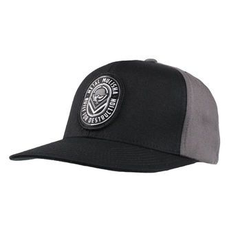 Kappe Cap METAL MULISHA - DESTRUCT BLK, METAL MULISHA