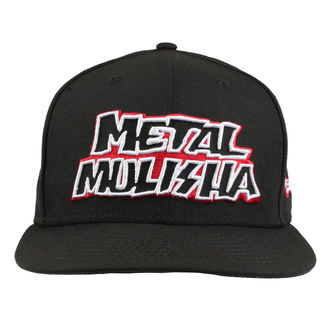 Kappe Cap METAL MULISHA - STICK UP BLK, METAL MULISHA