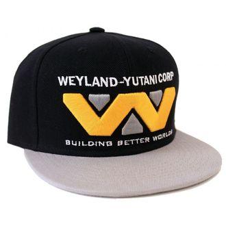 Cap ALIEN - WEYLAND-YUTANI CORP - SCHWARZ / GRAU - LEGEND, LEGEND, Alien - Vetřelec