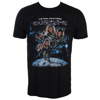 Herren T-Shirt Metal Europe - FINAL COUNTDOWN - LIVE NATION, LIVE NATION, Europe