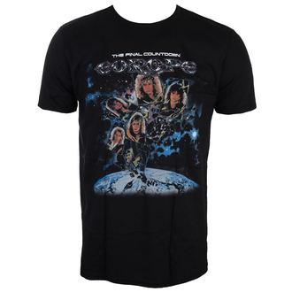 Herren T-Shirt Metal Europe - FINAL COUNTDOWN - LIVE NATION, LIVE NATION, Europe