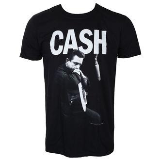 Herren T-Shirt Metal Johnny Cash - STUDIO - LIVE NATION, LIVE NATION, Johnny Cash