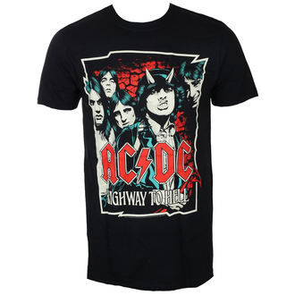 Herren T-Shirt Metal AC-DC - CARTOON - LIVE NATION, LIVE NATION, AC-DC