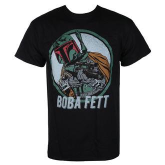 tričko pánské STAR WARS - BOBA FETT - BLACK - LIVE NATION, LIVE NATION