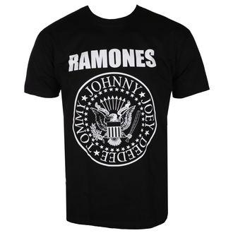 Herren T-Shirt Metal Ramones - CREST - LIVE NATION, LIVE NATION, Ramones
