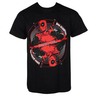 Herren T-Shirt Film Deadpool - BAD GOOD - LIVE NATION, LIVE NATION