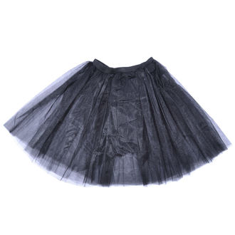 Damen Rock Poizen Industries - COR MIDI TUTU - SCHWARZ, POIZEN INDUSTRIES