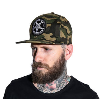 Kappe Cap BLACK CRAFT - Believe In Yourself - Camo, BLACK CRAFT