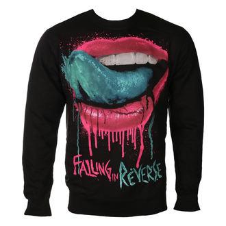 Herren Sweatshirt Falling In Reverse - LIPS - PLASTIC HEAD, PLASTIC HEAD, Falling In Reverse