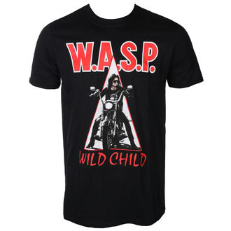 Herren T-Shirt Metal WESPE. - WILD CHILD - PLASTIC HEAD, PLASTIC HEAD, W.A.S.P.