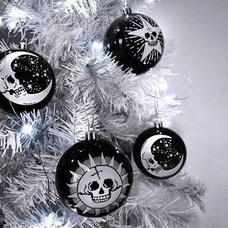 Weihnachtsdekoration (Baumkugeln) KILLSTAR - Hexmas - Schwarz, KILLSTAR