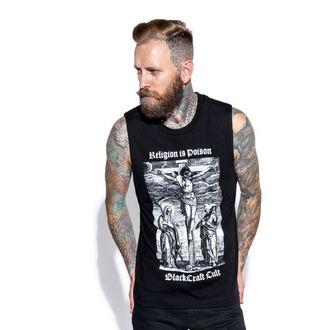 Unisex Tanktop BLACK CRAFT - Religion is Poison, BLACK CRAFT