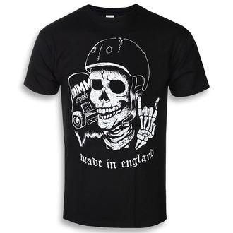 Herren T-Shirt Hardcore - SCHLITTSCHUH / STERBEN - GRIMM DESIGNS, GRIMM DESIGNS