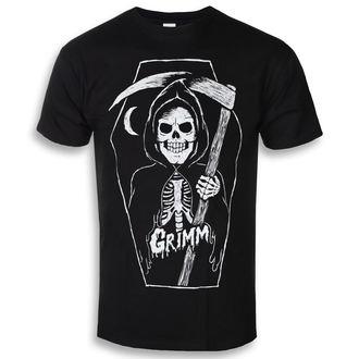 Herren T-Shirt Hardcore - GRIMM REAPER - GRIMM DESIGNS, GRIMM DESIGNS