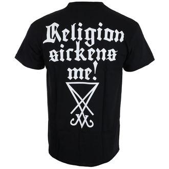 Herren T-Shirt Metal Dimmu Borgir - Religion sickens me - NUCLEAR BLAST, NUCLEAR BLAST, Dimmu Borgir