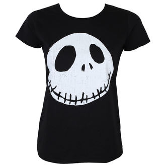 Damen T-Shirt Film The Nightmare Before Christmas - CRACKED FACE - PLASTIC HEAD, PLASTIC HEAD