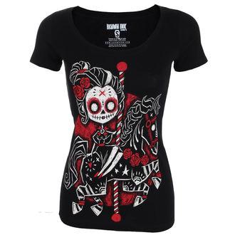 Damen T-Shirt Hardcore - Eternal Ride Scoop - Akumu Ink, Akumu Ink