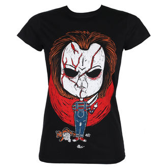 Damen T-Shirt Hardcore - CHUCKY - GRIMM DESIGNS