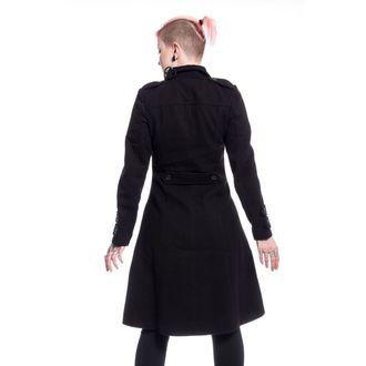Damen Mantel POIZEN INDUSTRIES - DARK ROMANCE - SCHWARZ, POIZEN INDUSTRIES