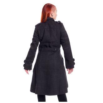 Damen Mantel POIZEN INDUSTRIES - DARK ROMANCE - GRAU, POIZEN INDUSTRIES