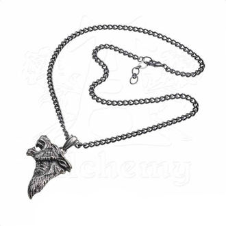 Anhänger mit Halskette ALCHEMY GOTHIC - Dark Wolf, ALCHEMY GOTHIC
